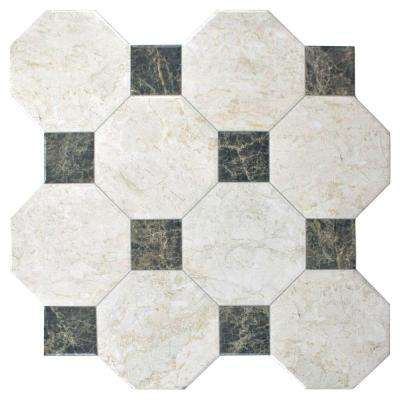 Opal Marfil 17-3/4 in. x 17-3/4 in. Ceramic Floor and Wall Tile (17.87 sq. ft. / case)