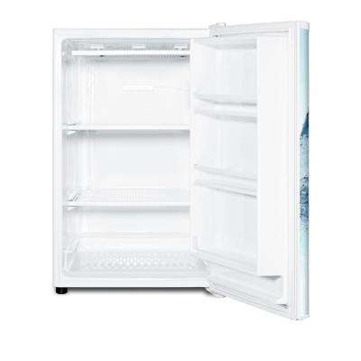 5 cu. ft. Upright Beer Freezer in White