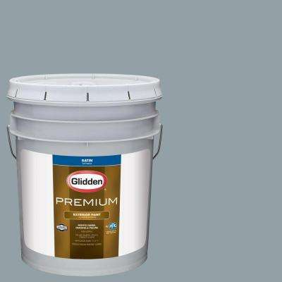 5-gal. #HDGCN33D Heritage Home Blue Satin Latex Exterior Paint