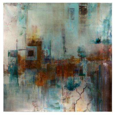 "40 in. x 40 in. ""Alluring Abstract I"" Printed Canvas Wall Art"