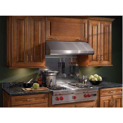 Elite E64000 30 in. Convertible Under Cabinet Range Hood with Light in Stainless Steel