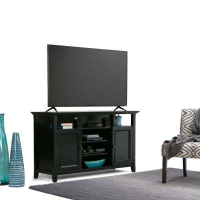 Amherst 54 in. W x 32 in. H Tall TV Stand in Black