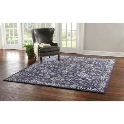 Jackson Indigo 8 ft. x 8 ft. Round Indoor Area Rug