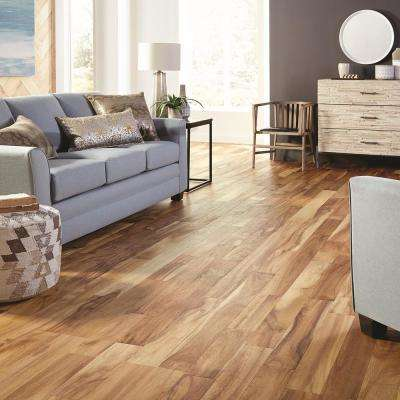 Avani Acacia 3/8 in. T x 5 in. W x Varying Length Click Lock Exotic Engineered Hardwood Flooring (26.25 sq. ft./case)