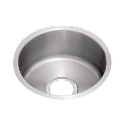 Mystic Undermount Stainless Steel 18 in. 0-Hole Single Bowl Bar Sink