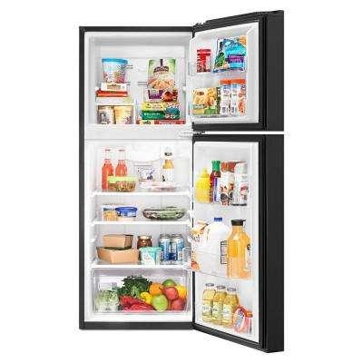 10.7 cu. ft. Top Freezer Refrigerator in Black