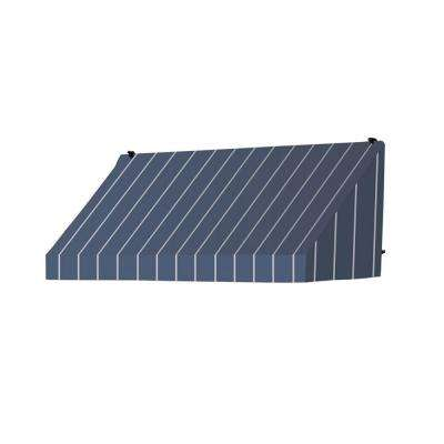 8 ft. Classic Manually Retractable Awning (26.5 in. Projection) in Tuxedo