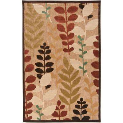 Irapuato Natural 7 ft. 10 in. x 10 ft. 8 in. Area Rug