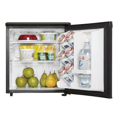 1.7 cu. ft. Mini Fridge in Black