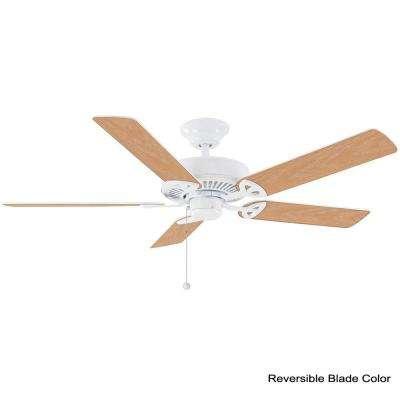 Farmington 52 in. Indoor Matte White Ceiling Fan