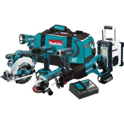 18-Volt LXT Lithium-Ion Cordless Combo Kit (7-Tool)