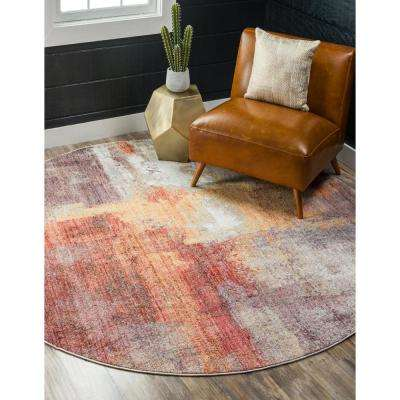 Downtown Collection by Jill Zarin Multi 8 ft. x 8 ft. Area Rug