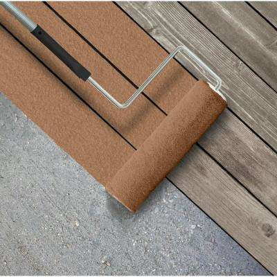 5 gal. #SC-146 Cedar Textured Solid Color Exterior Wood and Concrete Coating
