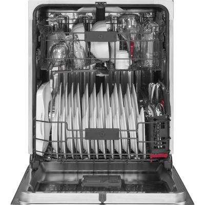 Profile Front Control Dishwasher in Stainless Steel with Stainless Steel Tub and Steam Prewash, 45 dBA