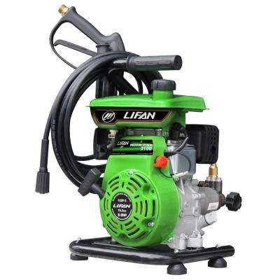 2,100 psi 2.0 GPM AR Axial Cam Pump Recoil Start Gas Pressure Washer with CARB Compliant