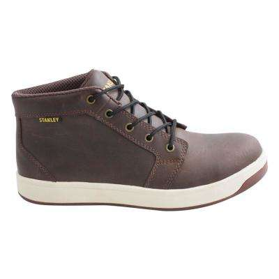 Finisher Men Brown Leather Composite Toe Work Boot