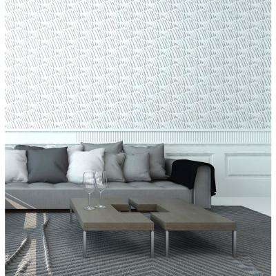 Nomad Collection Diamond Back in Pencil Removable and Repositionable Wallpaper