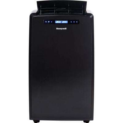 14,000 BTU Portable Air Conditioner with Remote Control - Black