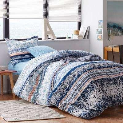 Rylie Cotton Percale Comforter Set