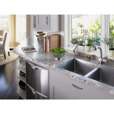 4 ft. x 8 ft. Laminate Sheet in 180fx Classic Crystal Granite with Radiance Finish