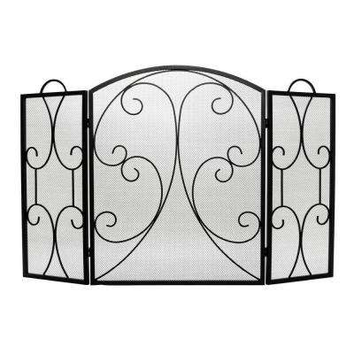 Hearthway 3-Panel Fireplace Screen