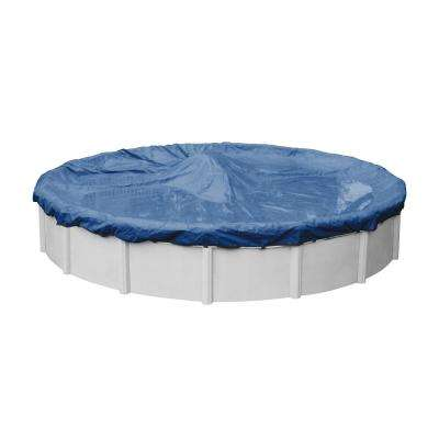 Pro-Select Round Blue Solid Above Ground Winter Pool Cover