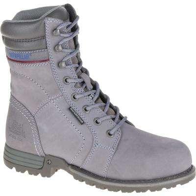 Women's Echo Waterproof 8'' Work Boots - Steel Toe