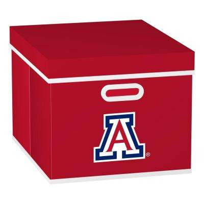 University of Arizona College STACKITS 12 in. x 10-1/2 in. x 15 in. Red Fabric Storage Cube