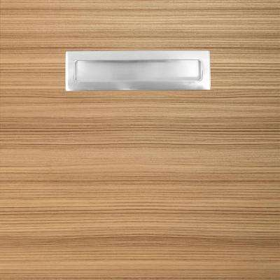 12.75x12.75x.75 in. Genoa Ready to Assemble Cabinet Door Sample in Beach (Textured)