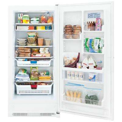 20.5 cu. ft. Frost Free Upright Freezer in White, ENERGY STAR