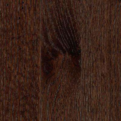 Franklin Dark Truffle Oak 3/4 in. Thick x 2-1/4 in. Wide x Varying Length Solid Hardwood Flooring (18.25 sq. ft. / case)