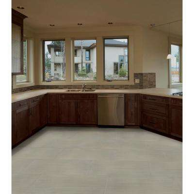 Metro Glacier 12 in. x 24 in. Matte Porcelain Floor and Wall Tile (16 sq. ft./case)