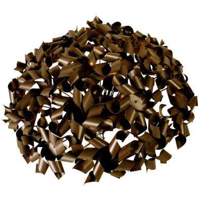 Pinwheel 8-Light Chocolate Bronze Ceiling and Wall Flushmount