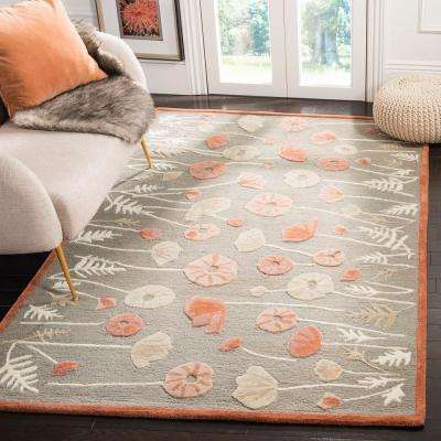 Martha Stewart Cayenne Red 2 ft. 6 in. x 4 ft. 3 in. Area Rug