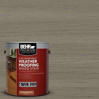 1-gal. #ST-154 Chatham Fog Semi-Transparent Weatherproofing Wood Stain