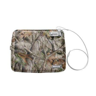 Locking Water-Resistant Field Pouch with Tether, XX Large, Camo
