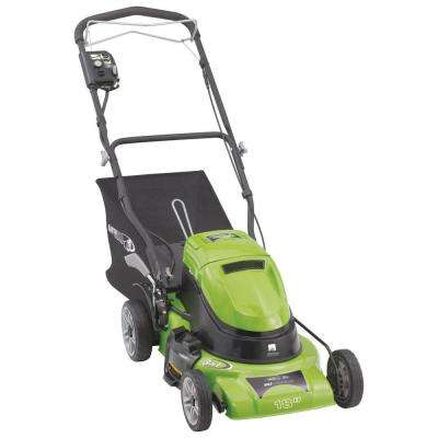 18 in. 24-Volt Self-Propelled Walk-Behind Cordless Electric 3-in-1 Lawn Mower