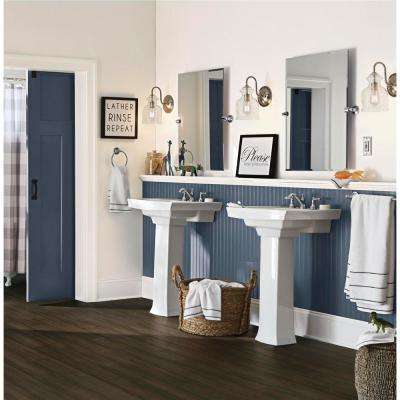 Poway 7 mm T x 5.2 in. W x 36.22 in. L Waterproof Engineered Click Bamboo Flooring (15.45 sq. ft./case)