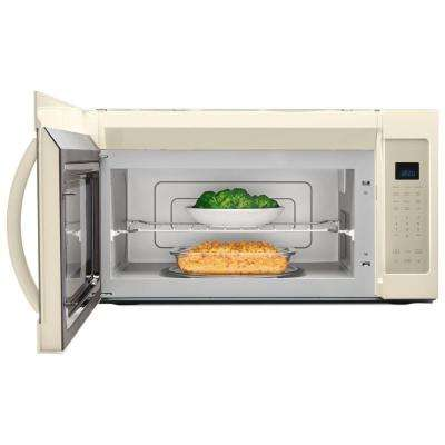 1.9 cu. ft. Over the Range Microwave in Biscuit with Sensor Cooking and Steam