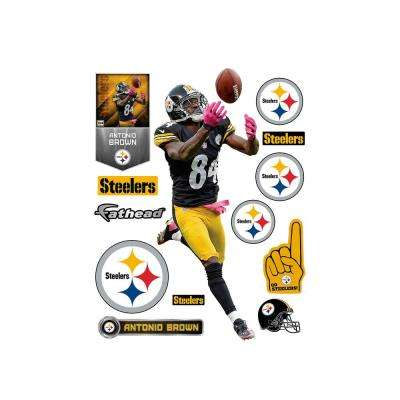 78 in. H x 30 in. W Antonio Brown Wall Mural