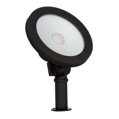 Low-Voltage LED (50W halogen equivalent) Outdoor Black Wall Wash Light