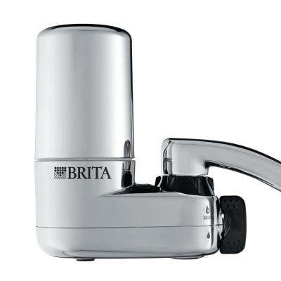 On Tap Faucet Filtration System in Chrome
