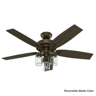 Crown Canyon 52 in. Indoor Regal Bronze Ceiling Fan