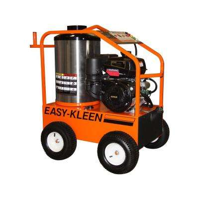 Commercial 4000 psi 3.5 GPM Gas Kohler Engine Hot Water Pressure Washer