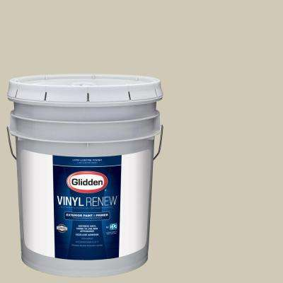 5 gal. #HDGWN53U Frosted Almond Low-Lustre Exterior Paint with Primer