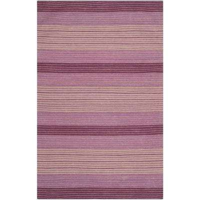 Marbella Lilac 8 ft. x 10 ft. Area Rug