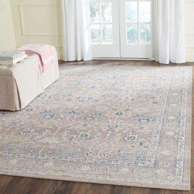 Patina Taupe 5 ft. x 8 ft. Area Rug