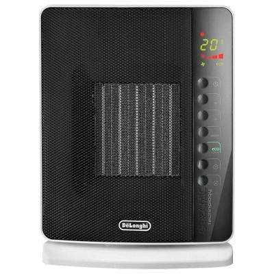1500-Watt Flat Panel Compact Ceramic Electric Portable Heater