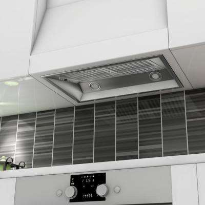 28 in. 900 CFM Convertible Range Hood Insert in Stainless Steel