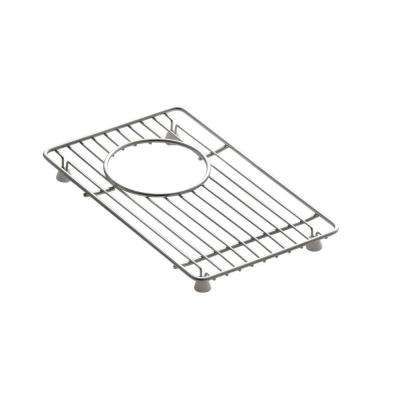Indio 11.4 in. x 7 in. Small Sink Basin Rack in Stainless Steel